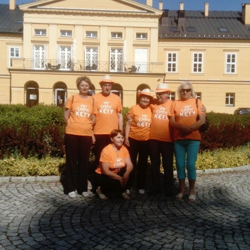 UTW Kęty na Dniach Seniora w Koszęcinie