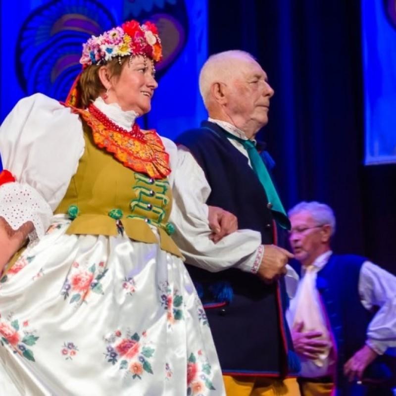 Zespół Piesni i Tańca Kęty w Oświęcimiu